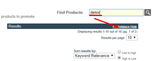 Search for Detox